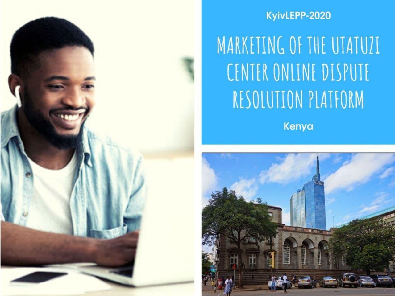 Онлайн-платформу для досудового вирішення спорів створили і популяризують в Кенії випускники KyivLEPP-2020